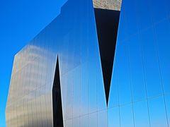 すみだ北斎美術館a「大江戸グルメと北斎」展を見学 ☆斬新なデザインの建物で浮世絵