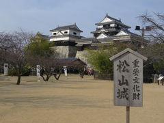 新年の四国(3)現存12天守・松山城