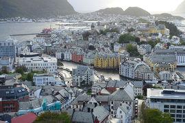 ノルウェー沿岸急行船往復 2018 虹の旅 2日目:オーレスン~ヨールンフィヨルド~オーレスン