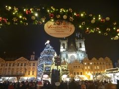 クリスマススマーケットでキラキラのプラハへ(3)プラハ城と宝石箱のような旧市街広場へ