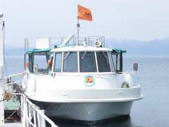 【復刻旅行記】北海道・惜別北斗星の旅(8)支笏湖で水中遊覧船