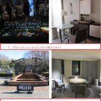 2018年末 大阪マリオットと名古屋マリオット。駅とデパートの上のホテルは楽しい。