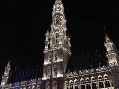 初ベルギー。徒歩で回るブリュッセル観光。
