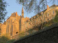 秋の陽光を受けパリ滞在一か月 4 サン・ピエール・ソレム大修道院(グレゴリオ聖歌発祥の地)