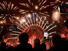 2018-2019年越しロンドン PART 5/6 NYE fireworks 2018!