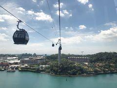 シンガポール観光詰め込みカウントダウンの旅 4/4《セントーサ島~ベイサンズ展望デッキ》