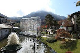 秋の優雅な箱根旅行♪ Vol.20 仙石原:ガラスの森美術館 紅葉ときらめくガラスの競演♪