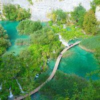 クロアチア プリトヴィチェへの旅4 プリトヴィチェ国立公園2