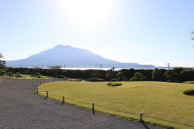 京都旅行はお昼で切り上げて、午後に伊丹から全日空で鹿児島へ飛び、業界関係ののグループに合流。飛行機は、ANAのプラチナ会員を目指しているのでプレミアムポイントを稼ぐために昨日に続いてプレミアムクラスにした。<br />鹿児島では天文館の鹿児島プラザホテルと言うビジネスホテルに滞在、団体なので私にはホテル決定権がない。<br />夕食は、一日目は「あぢもり」という黒豚しゃぶしゃぶの元祖の料理店で、2日目は「山映」と言う郷土料理の料亭に行った。2日目はパームカントリーでゴルフコンペ、3日目は団体で仙厳園を観光して午後のソラシドエアで羽田に帰ってきた。<br />