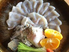 今年も3年とらふぐを食べに淡路島「ここちよ」へ