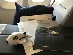 年始はバルセロナへ!①ルフトハンザ航空ビジネスクラス