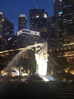 シンガポール一人旅 みんな大好きマーライオンに会いに行った2日目