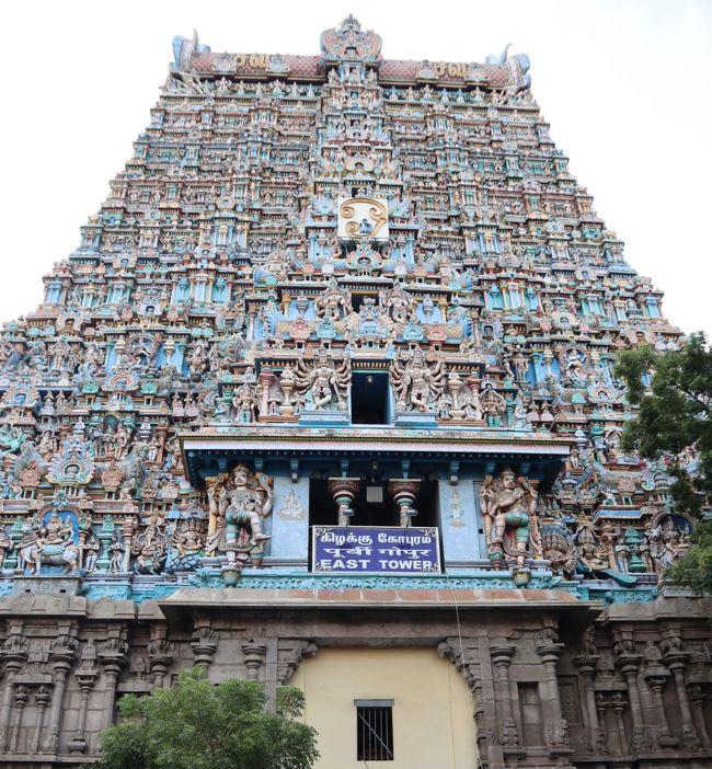南インド癒しの旅(3)・・マドゥライのミーナークシー・アンマン寺院、テイルマライ・ナーヤカ宮殿、ガーンディー記念博物館を巡ります。