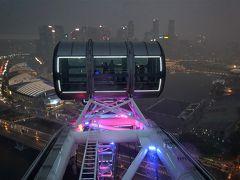 念願のフライヤーは雷雨だった…、ベイサンズからレーザー光線?別バージョンのスペクトラ 懲りずにシンガポール2018年9月の旅4-3