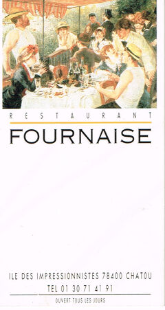 2002年 パリ・ロンドン 3/7:友人夫妻と周遊旅行 (パリ近郊)