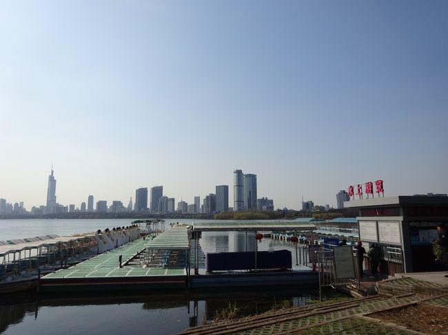 2018-2019冬休み 年越し上海 Vol.2 南京で珍事件発生!スワンボートで漂流編