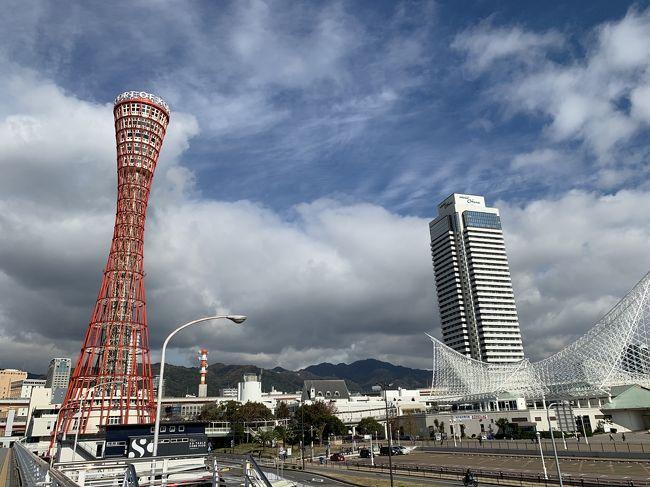 大阪は2年振り、そして神戸は30年振りでした。<br />大阪城のライティングとか生田神社への思いがけない参拝など、興味深い体験も出来ました。