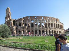 2018.10.10-10.29 東地中海ギリシャクルーズの前にローマに滞在①コロッセオ、フォロロマーノ