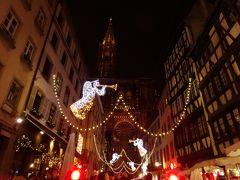 ストラスブール クリスマスマーケットと街並み