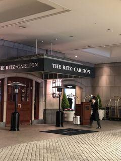 大阪リッツカールトン クラブラウンジでくつろぎホテルステイ