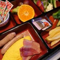 冬の軽井沢旅行♪ Vol.3 軽井沢プリンスホテル「ドッグコテージ」お部屋で朝食♪