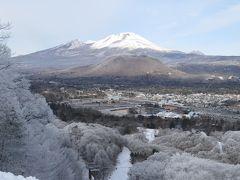 冬の軽井沢旅行♪ Vol.5 軽井沢プリンススキー場 白い浅間山♪
