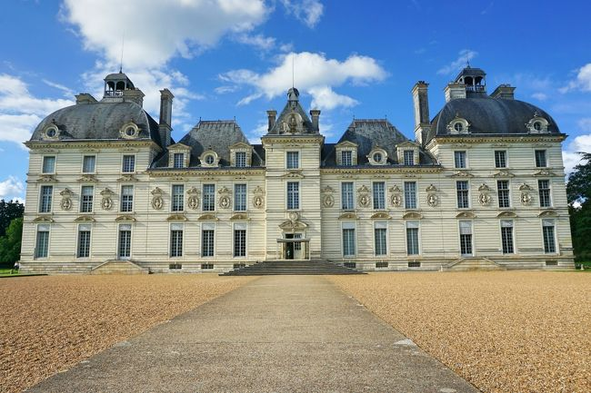 フランス・ドライブ 3,236km - #25 : 白亜の城館、シュヴェルニー城