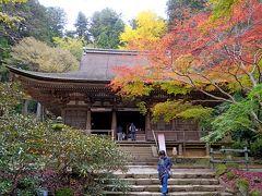 フィンランド人と一緒に京都,奈良旅行2-紅葉の室生寺
