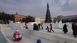 地球の駆け抜け方3~クリスマスの極東ロシア~Vol2 氷の街!ハバロフスク。凍りついたアムール川。