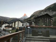 スイス旅行記 ~4日目ツェルマット マッターホルン満喫デー
