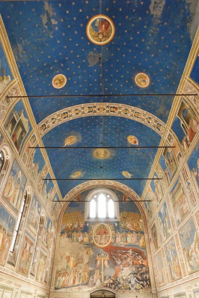 【アドリア海クルーズ&ベネチア近郊】ラプソディ・オブ・ザ・シーズ パドヴァで青の世界 10日目:後半