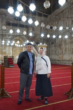 Wonder one dollar! HISエジプト8日間の旅(17)ムハンマド・アリ・モスクでラッパー兄さんのアカペラアザーンに感動する。