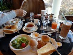 06.年越しのエクシブ山中湖3泊 ラウンジ ドルチェの朝食