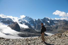 スイス2日目③気品あるスイスリゾート・サンモリッツとベルニナアルプス