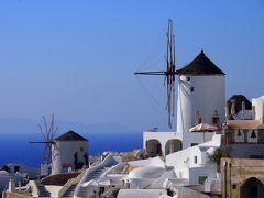 2018年 お盆休みの ギリシャ《6》 サントリーニ島 イア 日没前の 絶景