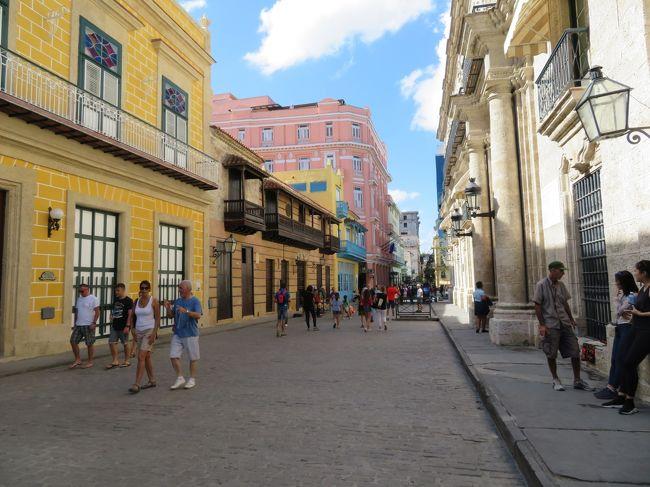 年末年始の長期休暇を使って、初めての中南米であるキューバへ行ってきました。<br /><br />以前からキューバには興味があり、<br />*アメリカと国交回復して3年ほど経過して、キューバが変わってしまう前にという思い。<br />*年三回の長期休暇で年末年始が一番のオンシーズン。<br />*オードリーの若林さんのラジオ&著書の影響。<br />この3つが主な要因でキューバ行きを決めました。