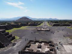長期勤続ご褒美休暇で初中南米&スペイン語圏のメキシコ世界遺産巡り ②2日目前半はラテンアメリカ最大の都市遺跡・ピラミデスを観に『古代都市テオティワカン』へ
