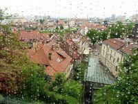 ウイーンから中欧、バルト海を駆け抜けた58日間☆彡 6日目 三部作のその一部目 雨のリュブリャナ・・