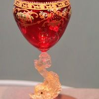 箱根21 ガラスの森c ヴェネチアン・グラスの名品ずらりと ☆受け継がれた誇りと技術