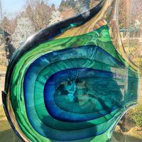 箱根22 ガラスの森d 現代ガラス美術館 リヴィオ・セグーゾ作品展 ☆土産コーナーも