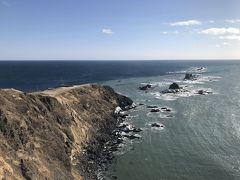 冬の快晴の十勝を旅行。襟裳岬も意を決して行ってきました。