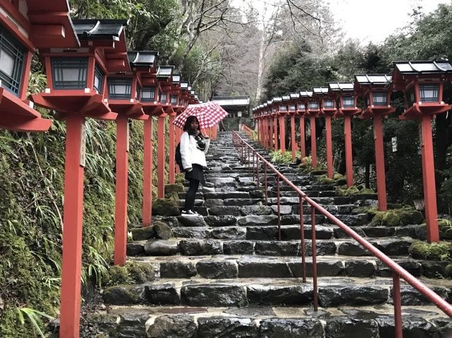 【2日目】こだわり姉妹旅 ~雨の貴船神社と4年越しの池田屋~