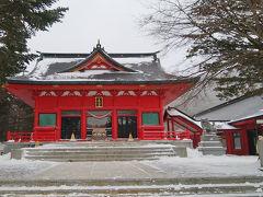 上毛三山・赤城神社へ