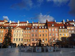 ポーランド&イスラエル一人旅6*・゜・*ワルシャワでベタな観光*・゜・*