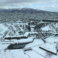 おひとり様 冬の函館(1) 五稜郭/ランチ/修道院