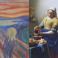 「ムンク展」と「フェルメール展」 そして初めての上野散策