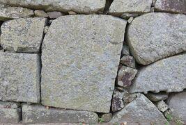 2018暮、佐賀と福岡の名城巡り(3/12):12月1日(3):福岡城(3):礎石展示、城跡の紅葉、打込み接ぎの石垣、福岡城から大野城へ