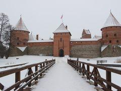中世の薫り漂うバルト三国とバルト海の乙女フィンランド8日間【7】氷に囲まれた美しき要塞トラカイ城