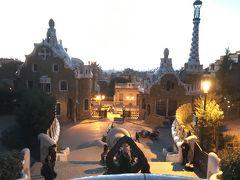 年越しスペイン旅行、マドリード&バルセロナ周遊� 早朝グエル公園、カサ・ミラ、ゴシック地区