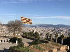 年越しスペイン旅行、マドリード&バルセロナ周遊⑥ モンジュイックの丘